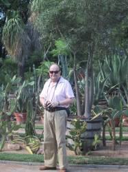 Le photographe au parc