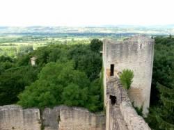 Le château fort de Trévoux