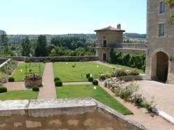 Jardins du château de Saint-Bernard