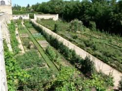 Les jardins du château de Saint-Bernard