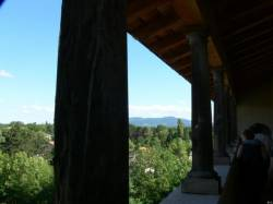 Vue depuis le château de Saint-Bernard