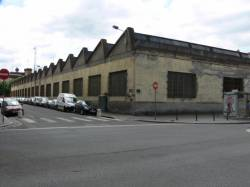 Quartier Perrache : hangar