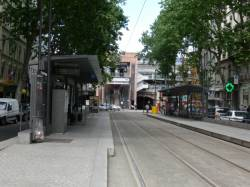 Station de tramway cours Charlemagne