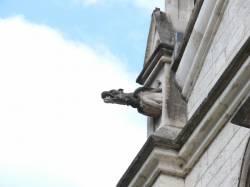 Eglise Sainte-Blandine : gargouille