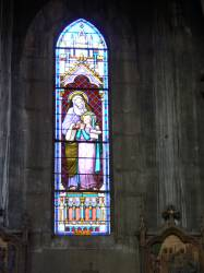 Église Sainte-Blandine : vitrail