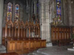 Église Sainte-Blandine : partie du choeur