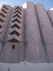 """Les """"grandes orgues"""" vues depuis la montée de Choulans"""