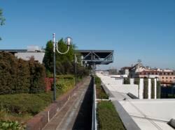La terrasse ouest du centre d'échanges de Perrache