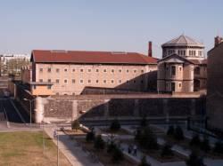 La prison vue de la gare de Perrache