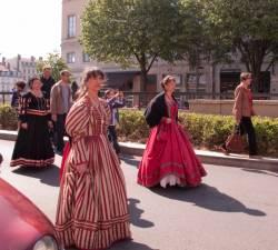 Fête des Pennons dans l'avenue Adolphe-Max