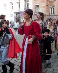 Fête des Pennons sur la place Saint-Jean