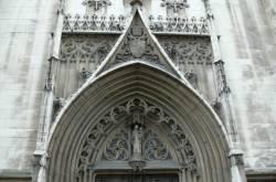 Portail gothique Saint-Bonaventure
