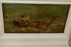 Plafond peint détail