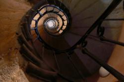 Montée d'escalier, rue Saint-Jean