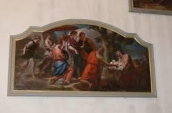 Tableau : scène religieuse