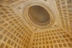 Grand dôme de l'Hôtel-Dieu vue intérieure