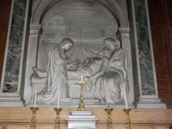 La mort de Saint-Joseph par Charles Dufraine (1894)