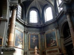 Chapelle de l'Hôtel-Dieu de Lyon : le choeur