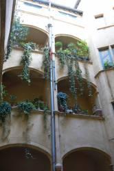 Cour intérieure : galeries