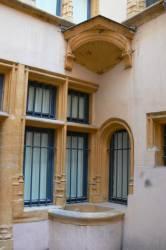 Cour intérieure de l'hôtel du Gouvernement