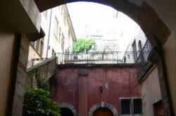 Cour intérieure de la maison du Crible