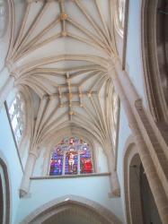 Collégiale Notre-Dame-des-Marais : la voûte