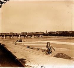 Lyon, le pont de la Guillotière
