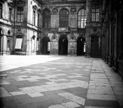 Cour intérieure de l'Hôtel de Ville
