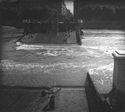 Destruction des ponts de Lyon : Pont Lafayette