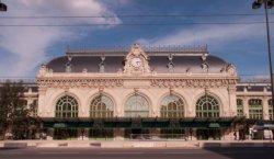 La gare des Brotteaux