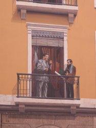 La fresque des Lyonnais : Edouard Herriot et Tony Garnier