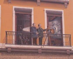 La fresque des Lyonnais : Auguste et Louis Lumière