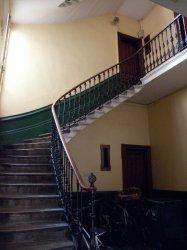 Immeuble Grande rue de la Guillotière : cage d'escalier