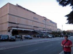 Le Centre commercial de la Part-Dieu vu de la rue du Docteur Bouchut