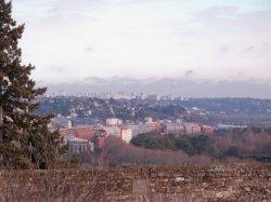Rillieux-la-Pape vue depuis la place Bellevue