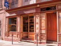 La devanture d'une boulangerie
