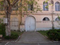 Le Quartier Sergent-Blandan : la porte cochère d'un bâtiment