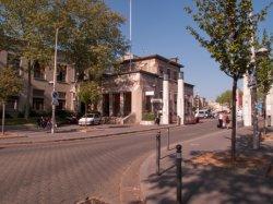 Hôpital Edouard-Herriot : l'entrée principale