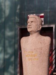 Hôpital Edouard-Herriot : le buste d'Edouard-Herriot (1872-1957)