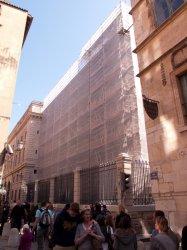 Le Palais de justice, rue Saint-Jean