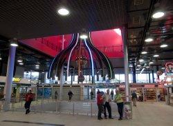 Le Hall voyageurs du Centre d'échanges de Perrache