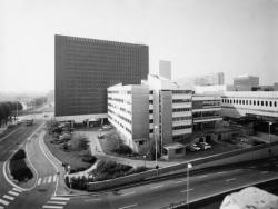 Bibliothèque municipale la Part Dieu, façade nord