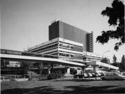 Bibliothèque municipale la Part Dieu, façade sud