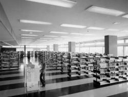 Bibliothèque municipale la Part Dieu, salle de Prêt