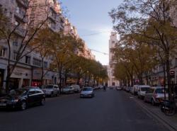 L'avenue Henri-Barbusse à Villeurbanne