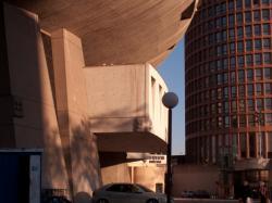 """L'Auditorium Maurice-Ravel et la Tour LCL, dite """"Le Crayon"""""""
