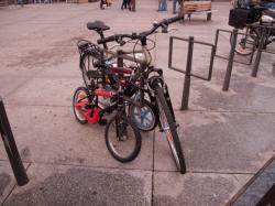 Grand et petits vélos rue Docteur Bouchut