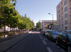 Le lycée Pierre Brossolette vu depuis la rue Billon