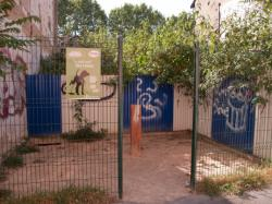 """Terrain en friche sur la rue Léon-Chomel converti en """"petit coin des chiens"""""""