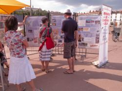Journées de l'archéologie 2011 sur la place Bellecour